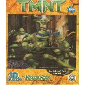Visual Echo 3D Puzzle Teenage Mutant Ninja Turtles TMNT Lenticular