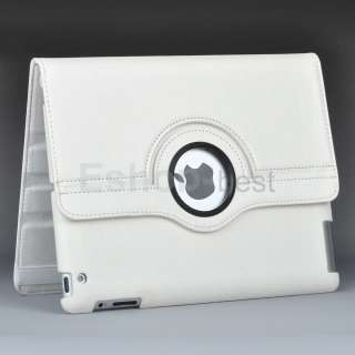 360°Leather Magnetic Case Cover+Screen Protector+Stylus Pen for The