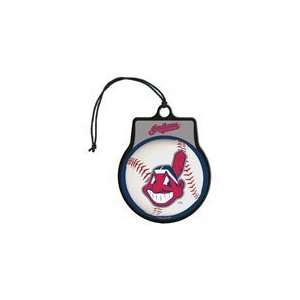 MLB Licensed Team Logo Air Freshener Vanilla Scent  Cleveland Indians