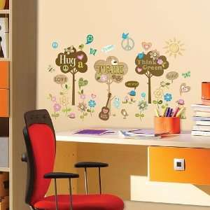 ADDHeres Hug a Tree Wall Stickers Toys & Games