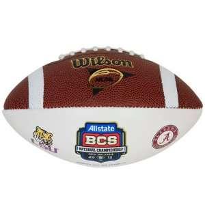 Wilson LSU Tigers vs. Alabama Crimson Tide 2012 BCS