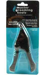 Ergonomic Dog Guillotine Nail Clipper Cutter Grooming