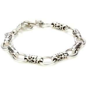 LH MEN Tribal Tribal Bullet Station Bracelet: Jewelry