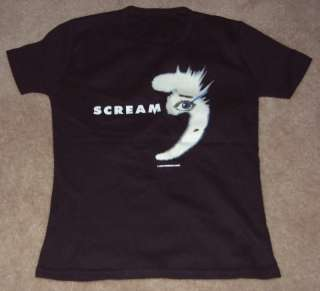 SCREAM 3 promo shirt NEVE CAMPBELL