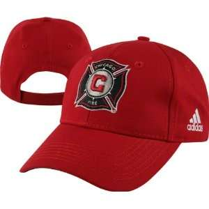 Chicago Fire Youth adidas Team Logo Adjustable Hat Sports