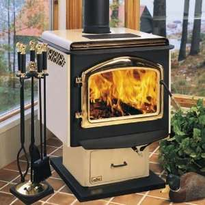 Napolean Fireplaces 1400S Pedestal Mounted Wood Stove with
