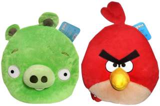 Angry Birds Plush 12 Backpack Set Of 2 *New*