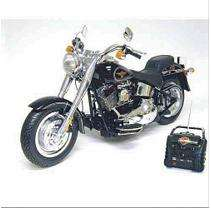 28 R/C Harley Davidson Fat Boy   Black   27MHz