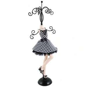 Cocktail Dress Jewelry Stand Dress Form Mannequin Doll 15H
