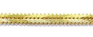 MILOR ~ Gold Plated / Sterling Silver Foxtail Link Fashion Bracelet