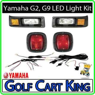 Yamaha G2 and G9 Golf Cart Headlight   Tail Light Kit