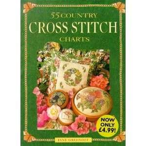 Country Cross Stitch Charts Pb (9780715306253): Jane Greenoff: Books