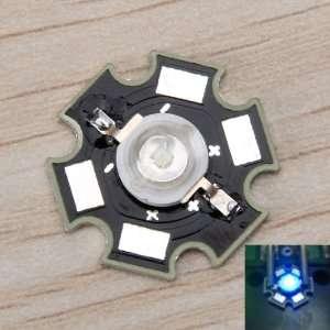 3W High Power Star LED Light Lamp Bulb (Blue)