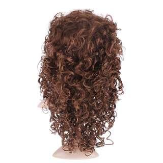 Womens Fashion curls Stylish 22 long curly wavy hair wig Perruque