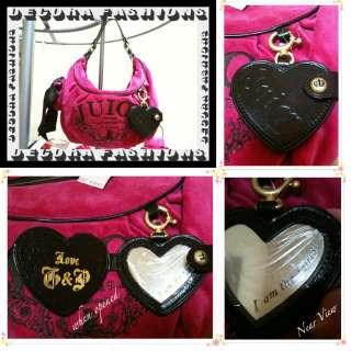 NWT ♥ Auth. Juicy Couture Bag PINK ♥ Shoulder Bag Purse MSRP $195