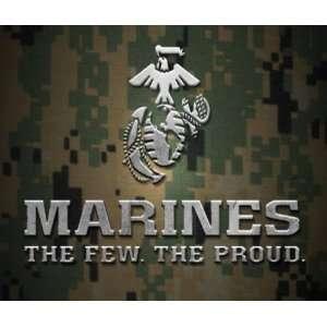 Custom Printed Mouse pad mousepad United States Marine Corp Home