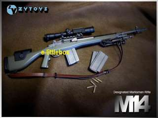 ZyToys Zy Toys Sniper Rifle Gun M14 Olive Drab OD Green USMC Army