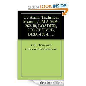 US Army, Technical Manual, TM 5 3805 262 10, LOADER, SCOOP TYPE, DED