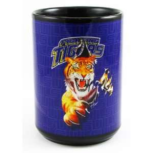 Louisiana State Fighting Tigers   NCAA 15oz Black Coffee Mug by