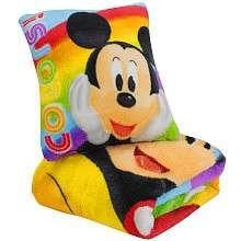 Mickey Mouse Micro Plush Pillow & Blanket Set   Northwest Company