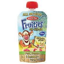On The Go Tigger  (Pear/Banana/Raspberry)   Beech Nut   BabiesRUs