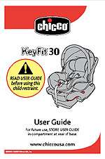 Graco Safeseat Chicco Keyfit 30 Car Seat Cover