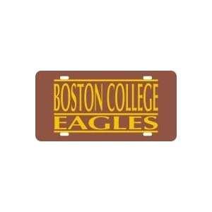 Boston College Eagles Bar License Plate