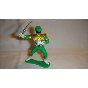 MIGHTY MORPHIN POWER RANGERS PVC GREEN POWER RANGER FIGURE