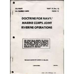 Doctrine for Navy / Marine Corps Joint Riverine Operations