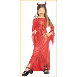 Devilish Diva Child Costume (Small) Toys & Games