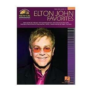 Elton John Favorites   Piano Play Along Volume 77   Book