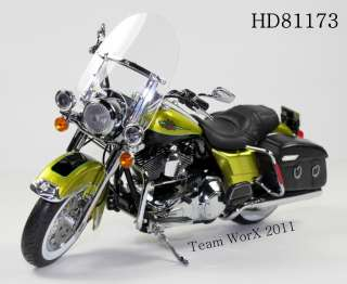Davidson FLHRC Road King Classic Diecast Motorcycle 112 HD 81173