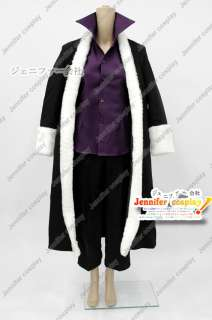 Fairy Tail Laxus Dreyar cosplay costume any sizes thick coat