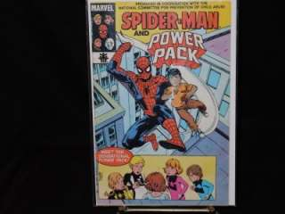 MARVEL COMICS SPIDERMAN AND POWER PACK NO. 1   1984