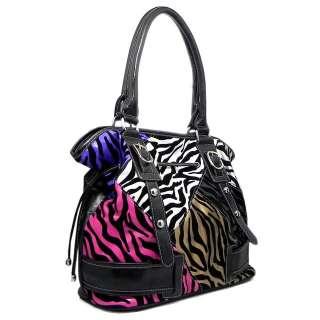 Patchwork Black Kate Shoulder Bag Hobo Satchel Tote Purse Handbag