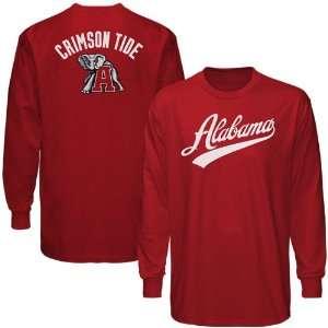 Crimson Tide Crimson Blender Long Sleeve T shirt
