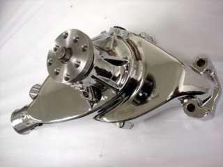 Big Block Chevy Polished Aluminum Short Water Pump BBC SWP