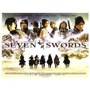 Seven Swords Original Movie Poster, 40 x 30 (2005)