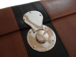 Purple Label Ralph Lauren Polo Ricky Clutch Handbag Bag