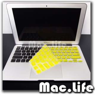 YELLOW Silicone Keyboard Cover for NEW Macbook Air 11