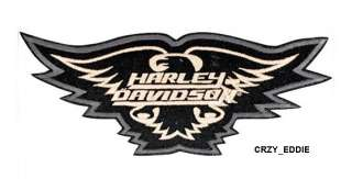 HARLEY DAVIDSON BOLD EAGLE VEST JACKET PATCH **NIP**