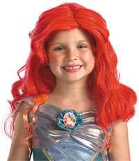 Child Std. Disney The Little Mermaid Ariel Girls Wig