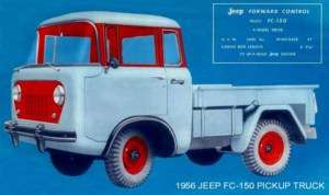 1956 JEEP FC 150 ~ PICKUP TRUCK ~ MAGNET