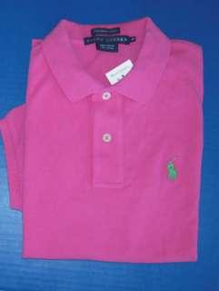 NWT Ralph Lauren Sport Womens Pink Shirt Size Large