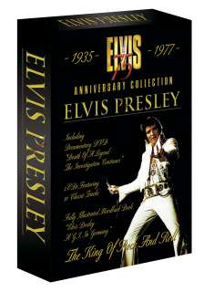 Elvis Presley 75th Anniversary Collection CDs DVD BOOK