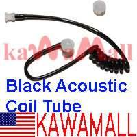2X Black Ver C Acoustic Replacement Coil Tube