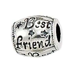 Zable Best Friend Talking Sterling Silver Charm Jewelry
