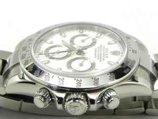 2004 Rolex Daytona 116520 Stainless Steel White Dial w/Box