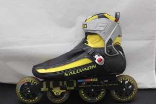 SALOMON Pilot V Pro2 Inline Racing Skates Pro 2   Yellow & Black 12
