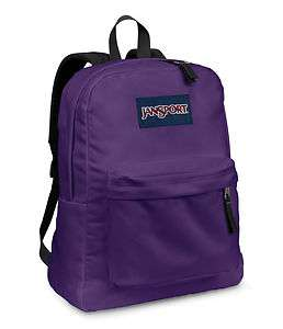 SuperBreak Electric Purple Backpack School Bookbag T501 4UT NWT